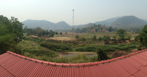Scenic view in Chiang Mai.
