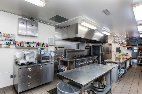 Dining Center Commercial Kitchen