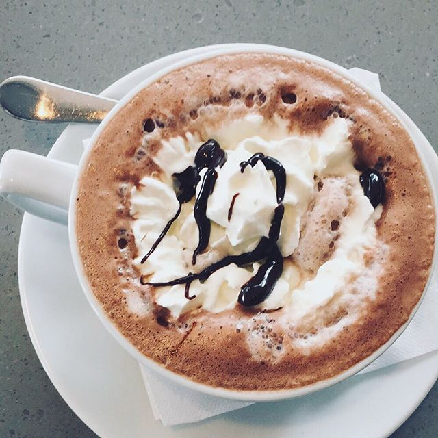 Polar vortex got us like ☃️ #getstealz @ #frescacafeandgelato #cary {photo by jessica c.}