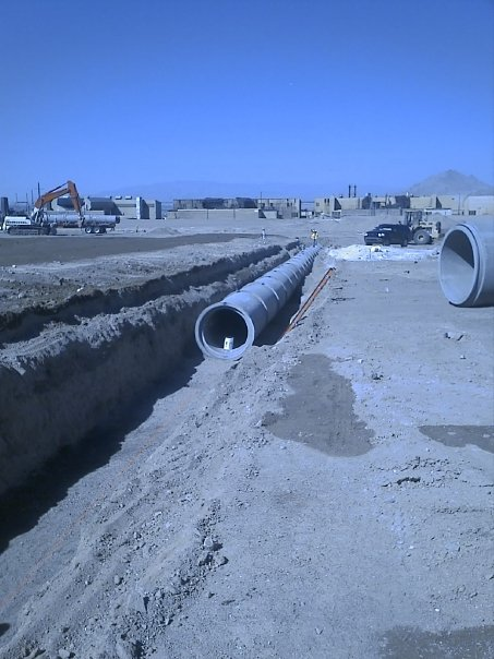 Small Diameter Pipeline Installation