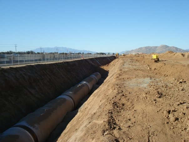 Large Diameter Pipeline Installation