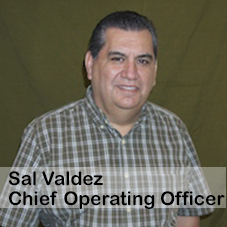 SAL VALDEZ Chief Operating Officer