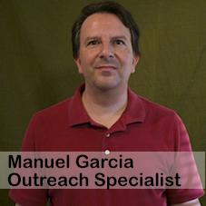 Manuel Garcia OUtreach Specialist