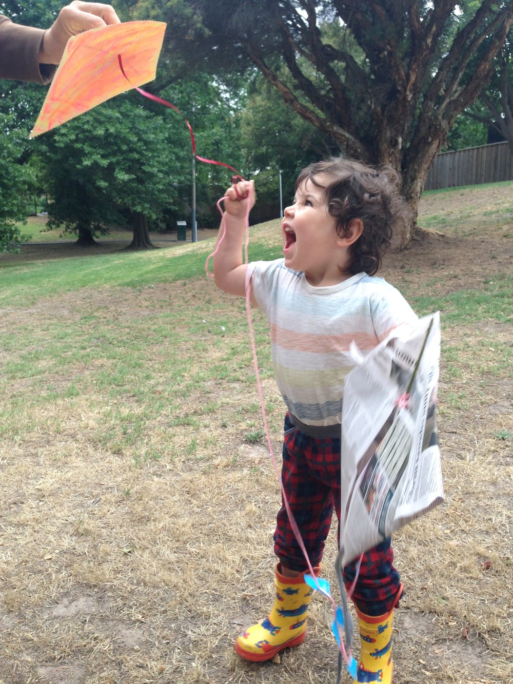 COME FLY WITH YOUR FAMILY with Mim and Ben - Come fly with your family and create a kite. This workshop will be a creative kids space where anything goes, mistakes are rad, and there's stacks of room for experimentation. Kites are made from recycled and found stuffcost: freeschedule: 11am - 12.30pmyou need to bring: nothing, all materials supplied