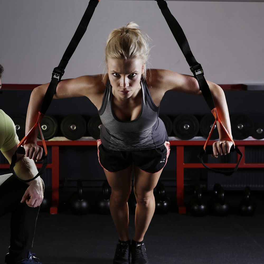 STACK: This Suspension Trainer Workout Builds Strength, Power and Core Stability