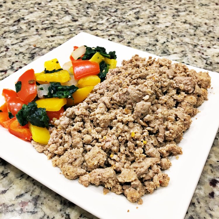 Ground Turkey & Mixed Veggies