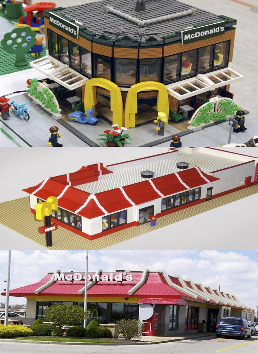 Original McLego Idea   Let's build an actual McDonald's restaurant made out of Lego in the birthplace of Lego—Copenhagen.