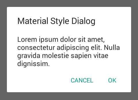 Android Alert DIalog