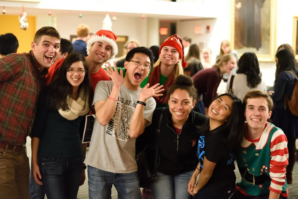 A snapshot of a recent PCF Christmas Party