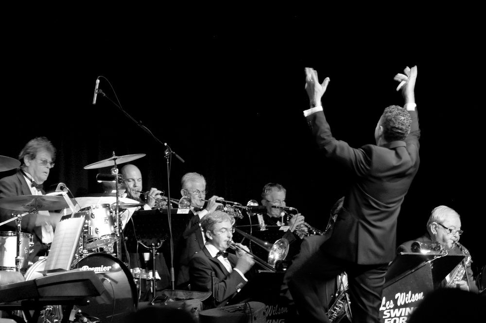 Les Wilson Swing Force Big Band