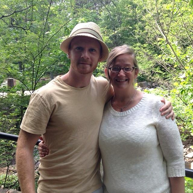My husband and I- out at Forrest Hill Park, in Richmond, VA