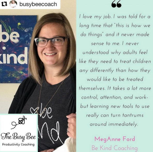 Click the photo to read my interview with Danise from The Busy Bee Productivity Coaching