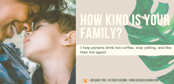 How Kind is Your Family- Positive Parenting Quiz- Be Kind Coaching