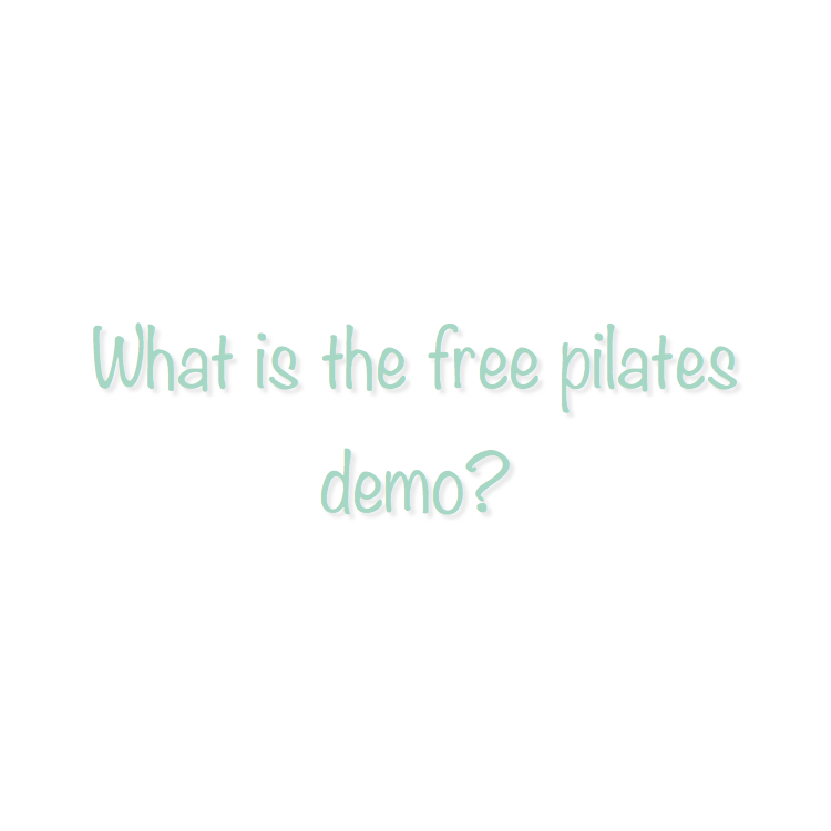 Because Pilates may be new for several people, I have decided to have a weekly (based upon need and instructor availability) FREE PILATES DEMO class.  You will need to register for this class online. This class is limited to 3 students, so pre-registration is required.  In this class we will do a studio tour and brief policy review.  Then we will discuss the Pilates Principles focusing specifically on breathing, core activation and spine articulation.  We will go through a short set of Mat exercises.  Then we will transition to the Pilates Equipment.  We will go through all the pieces of equipment that we have in the Studio, i.e. Reformer, Tower, EXO chair and Combo Chair.   If time allows we will then transition to the Barre and do a brief introduction to the movements of a Barre class.  After attending this Free Demo class a student should feel more prepared to attend a Mat class or schedule a private or duet equipment session.