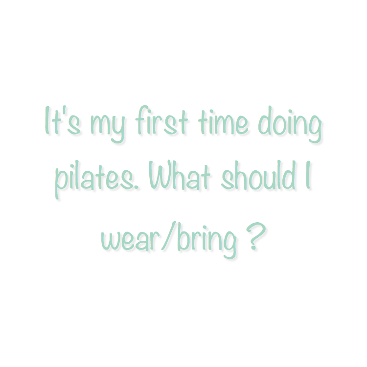 "The recommended attire for a Pilates and Barre class is form-fitting and comfortable clothing. By wearing form-fitting clothing you are able to more freely flow through the Pilates and Barre routine while also helping the instructor to visually see your alignment and form in order to make corrections when necessary.  There are no shoes allowed inside the studio. A student can wear toeless pilates ""grippy"" socks if desired. Plank does offer Pilates socks to purchase. Mats are provided for all mat classes.  Although we do have cubby storage inside the studio, space is limited so we recommend only bringing in necessities to class.  We have a water cooler, but we recommend bringing your own water bottle (especially for Barre classes cause you will need it!)."