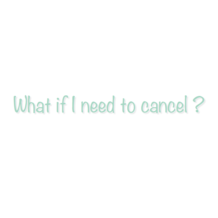 Cancellation Windows:  Reformer Classes: 12 Hours Prior  Private Sessions: 24 Hours Prior  Mat Classes: 2 Hours Prior   Private Sessions:   Private Sessions booked are subject to a 24-hour cancellation window. You must cancel your reservation online, over the phone, or via email. If a client has cancelled after the 24-hour cancellation window, he/she will be charged full-price for the missed class or have a class taken from their package.    Mat Classes:   Mat classes booked are subject to a 2-hour cancellation window. You must cancel your reservation online, over the phone, or via email. If a client has cancelled after the 2-hour cancellation window he/she will be charged full-price for the missed class or have a class taken from their package.     Reformer Classes:   Reformer classes booked are subject to a 12-hour cancellation window. You must cancel your reservation online, over the phone, or via email. If a client has cancelled after the 12-hour cancellation window he/she will be charged full-price for the missed class or have a class taken from their package.