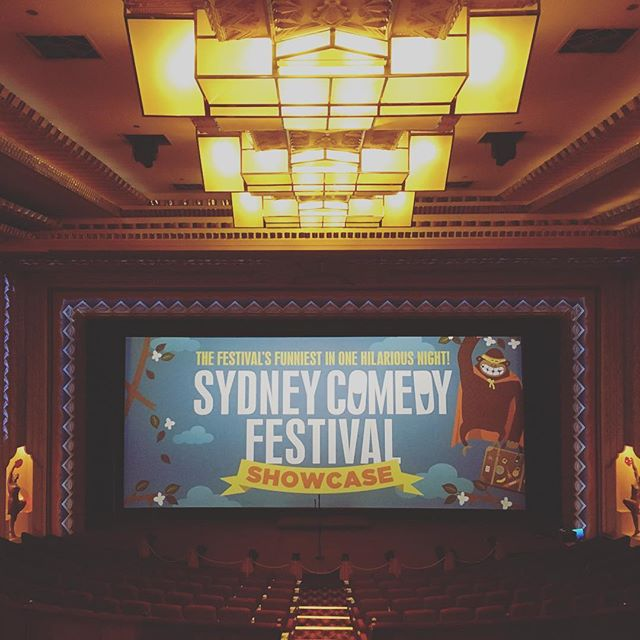 @haydenorpheumpicturepalace you're always looking so good! Thanks for last night. Catch ya next year!  #showcasetour2016 #sydneycomedyfestival #haydenorpheum #cremorne