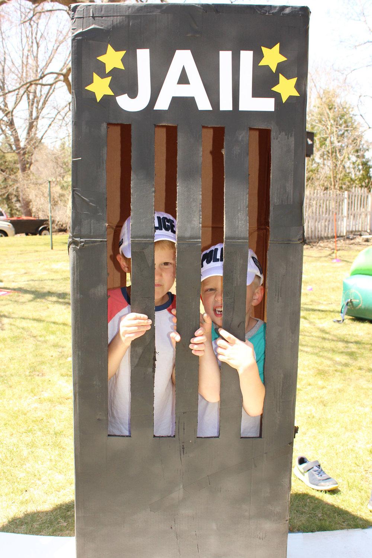 Jail Photo Op