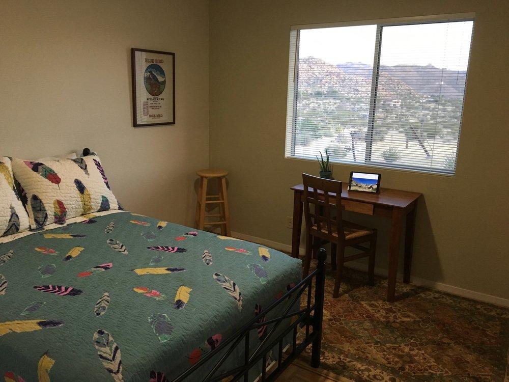 Sunnyrock Acres, Joshua Tree - Full Bedroom