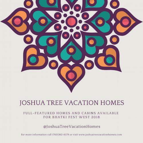 Bhakti Fest Vacation Rentals - JoshuaTreeVacationHomes.com