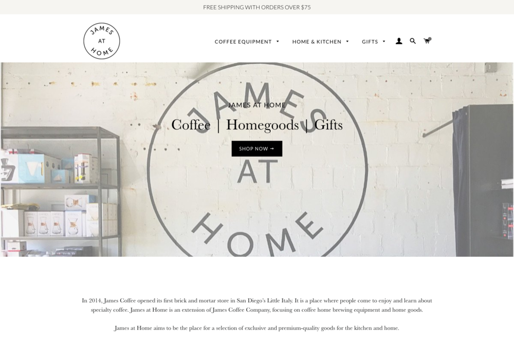 James At Home Online Store. James At Home   PUTRILUNA