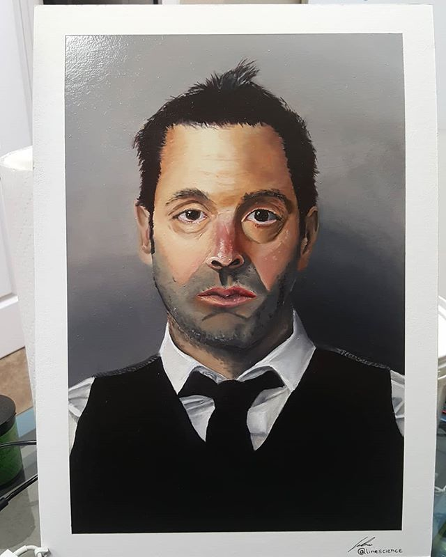 Finished up with another Udemy course on art. Really enjoyed this one it was a bit basic but exactly what I needed to bring my oil painting to the next level. Swipe to see the layers of paint below the final portrait.  #art #artonistagram #artgram #paintpaintpaint #paint #paintingexercise #painting #paintanyway #paintings #realisticart #realismart #realismart #realismpainting #oilpaint #oilpaintingart #oilpainting #oilpaintings #portrait #portraitpainting #portraitpainter #progress #paintingprogress #paintingprocess #linescience