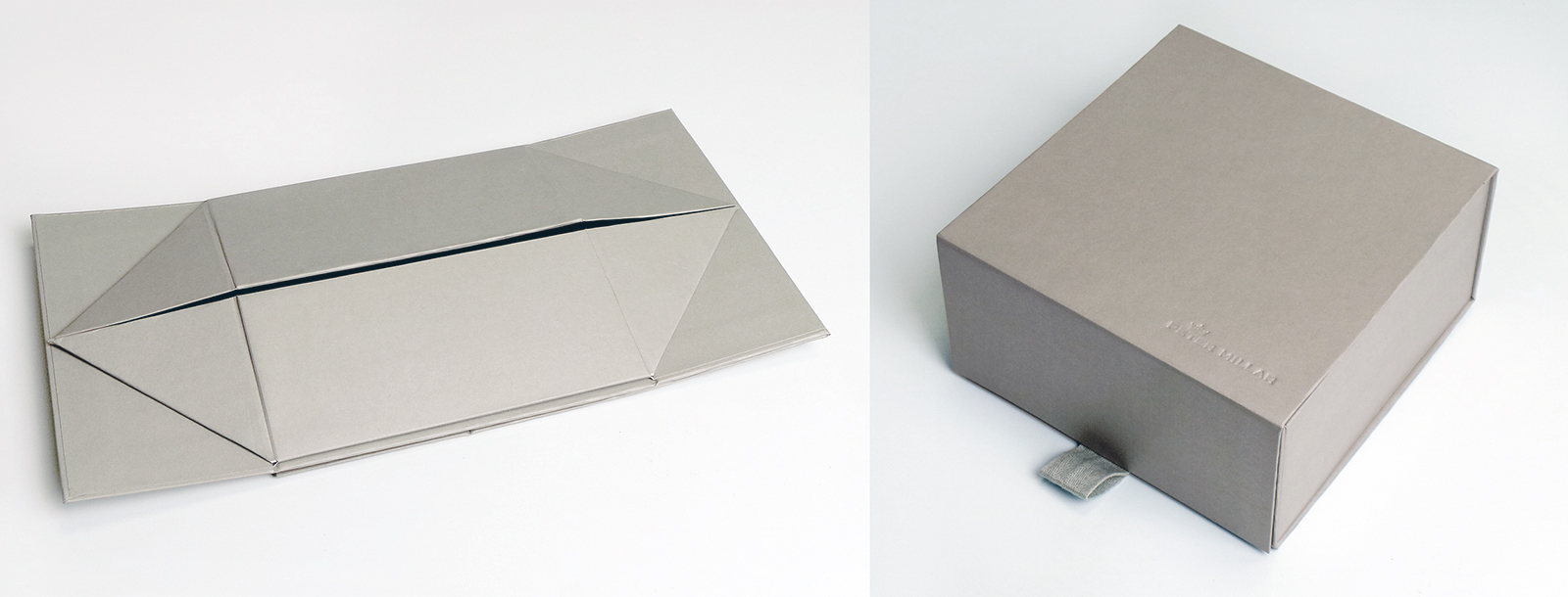 PeterMillarSmallBox-Flattened-Folded-Grey