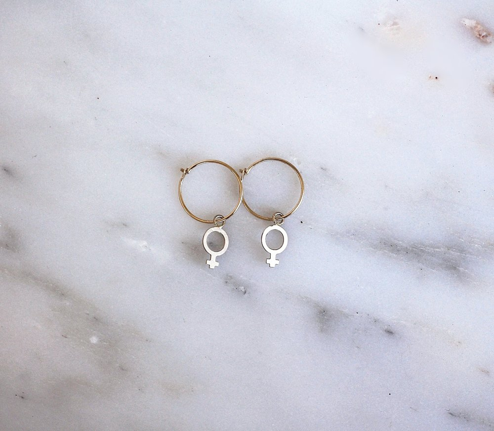 New Arrival: 14K Demigoddess Hoops