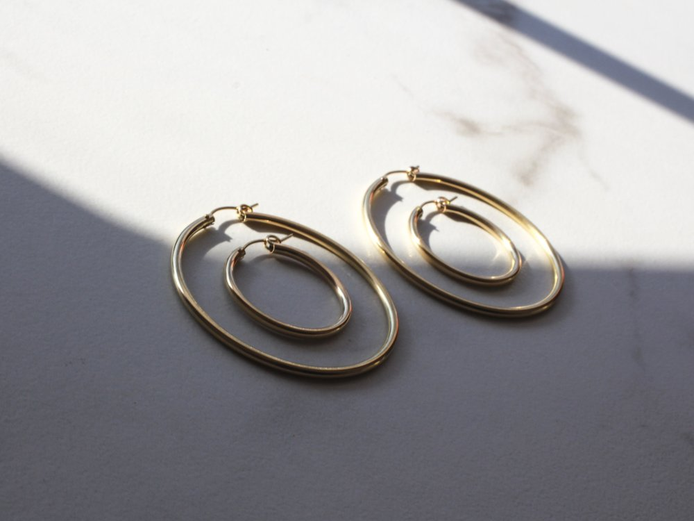 New Arrival: Nefertiti Hoops