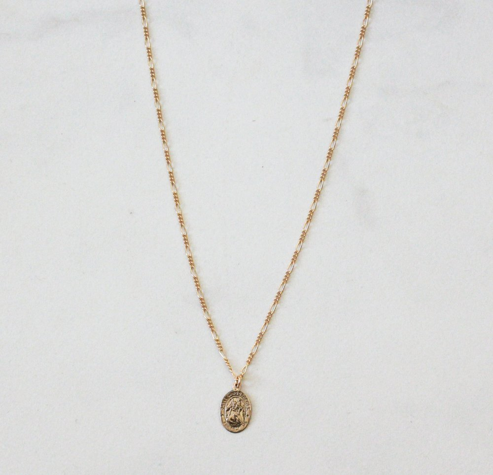 New Arrival: Saint Christopher Mini Medal