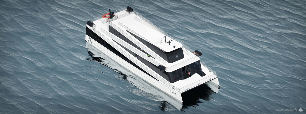FUEL-EFFICIENT FAST FERRIES   in carbon fibre
