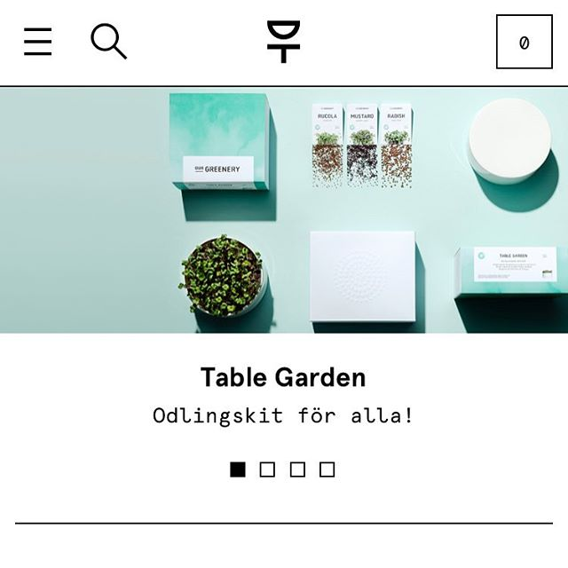 Just moved in to @designtorget 🌱 #tablegarden #ourgreenery #interiordesign #designtorget