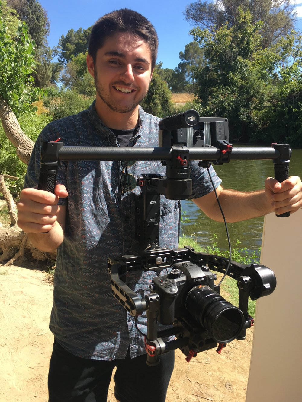 Our cinematographer Ethan Francis