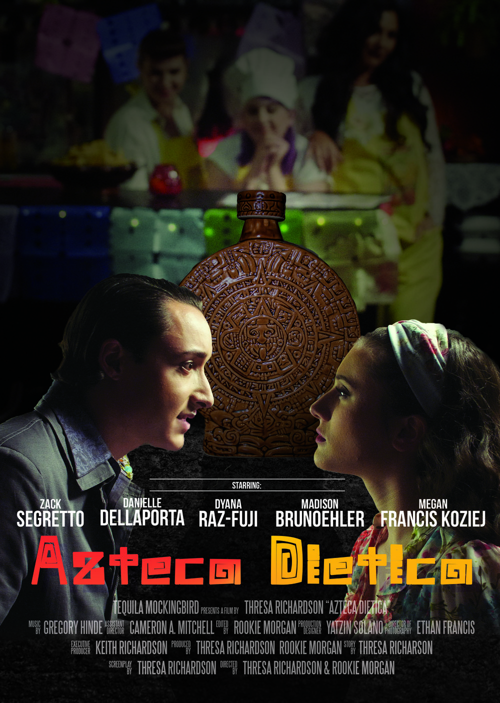 The Movie Poster for Azteca Dietica