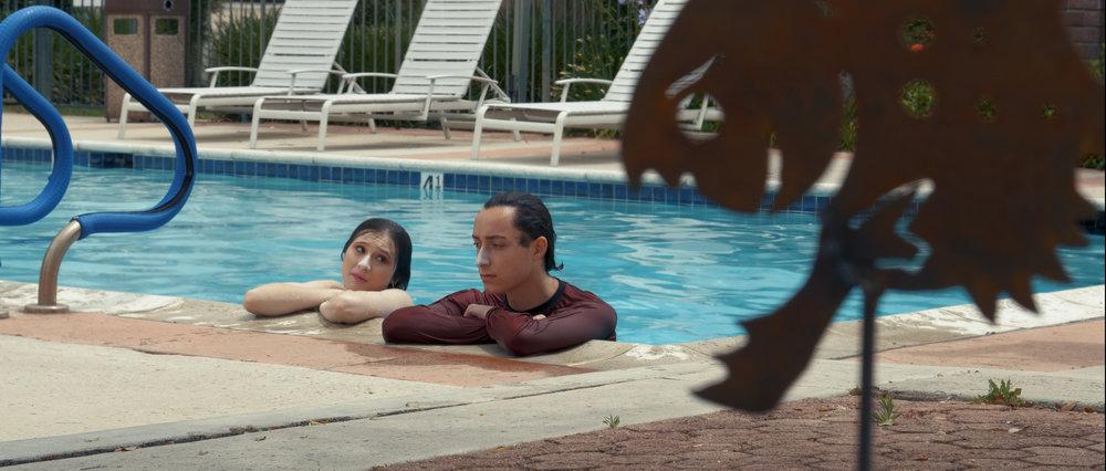 Poolside Film Still
