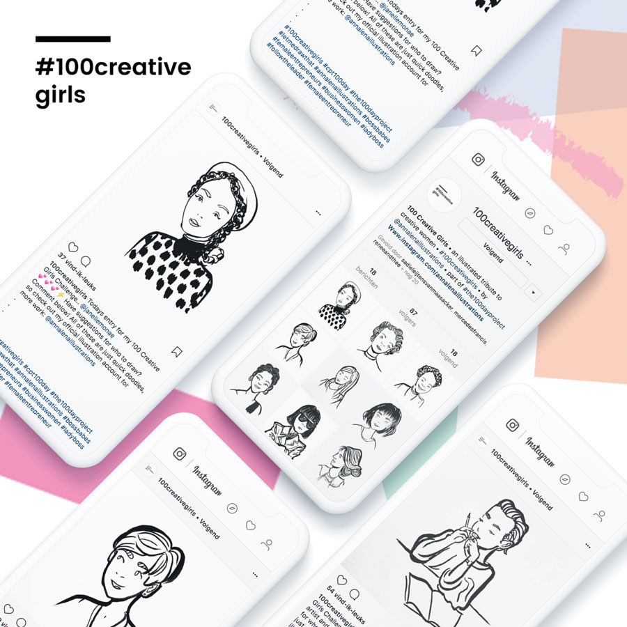 #100creativegirls