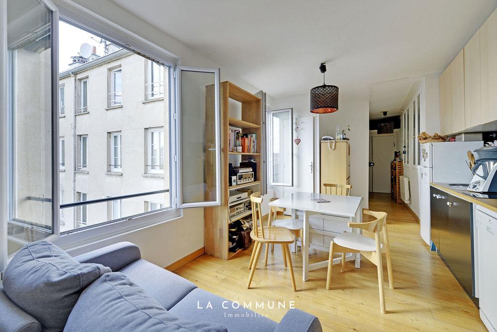 FAUBOURG-DU-TEMPLE   Paris 10 - 32m2 - 336 000€