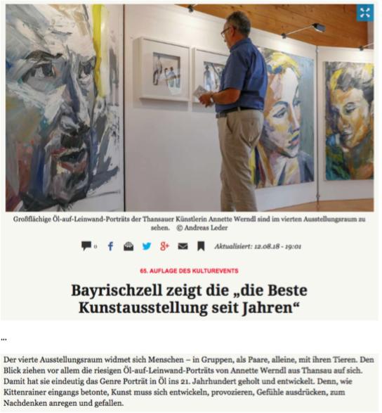 - Auszug Münchner Merkur vom 12.08.2018