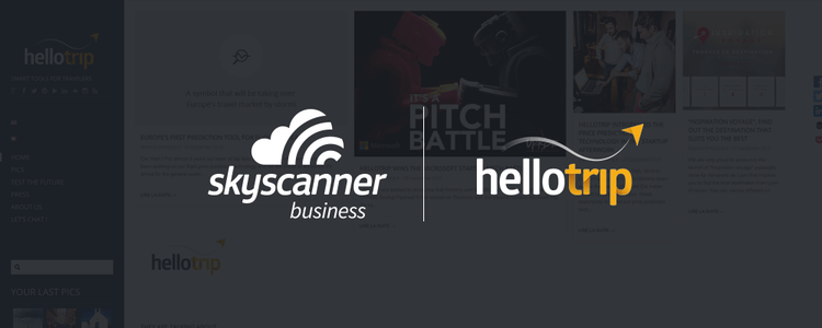 Skyscanner and Hellotrip