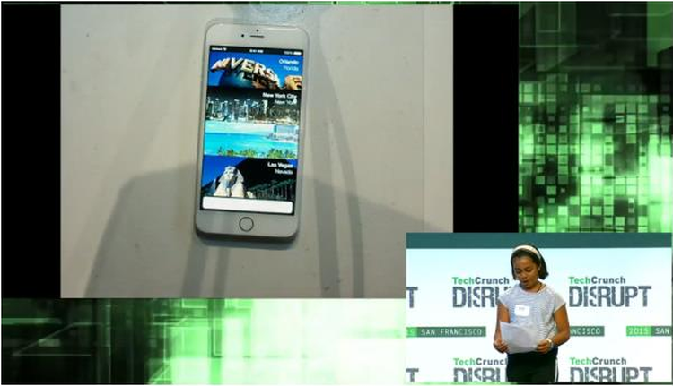 Hitesh and Prisha Parashar use Skyscanner Hotels API to create app for TechCrunch Disrupt 2015 Hack