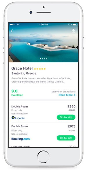 Hotel Search on Skyscanner