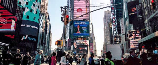 Advertising-streets