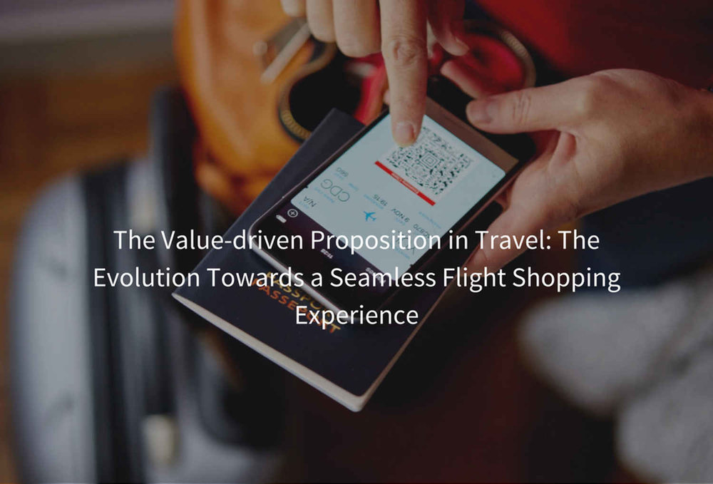 The Value driven Proposition in Travel