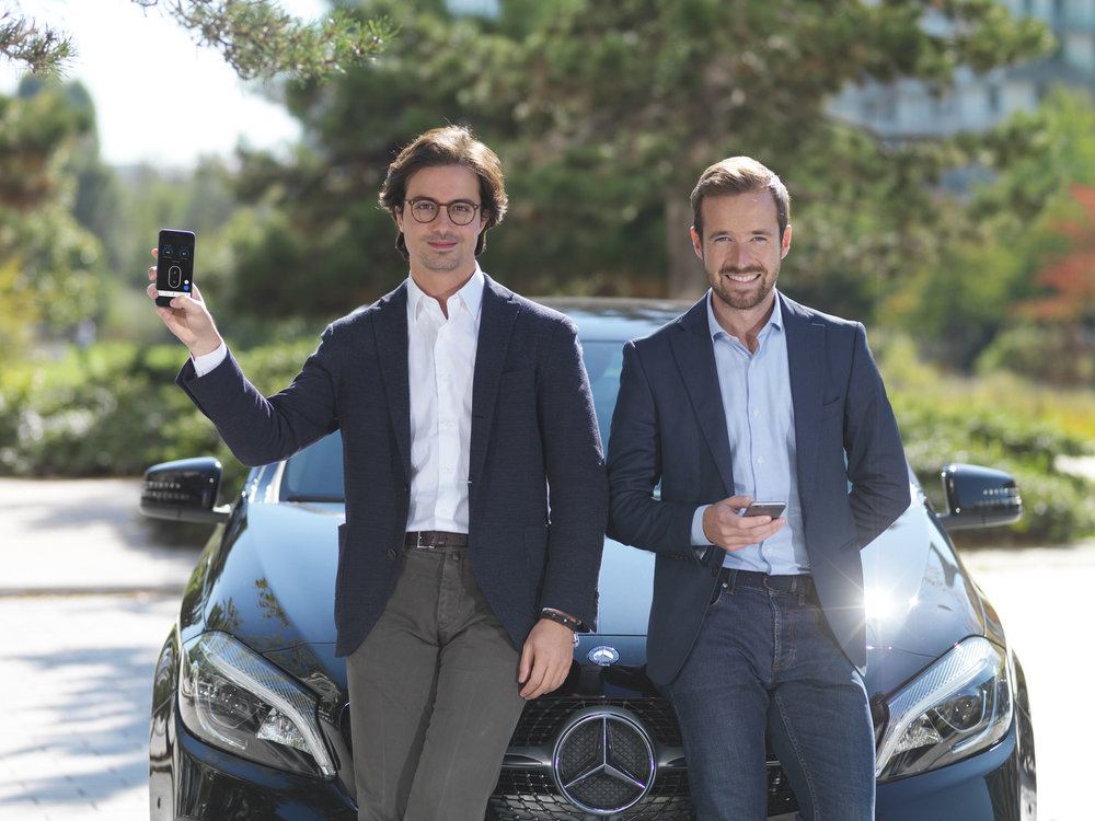 Karim Kaddoura and Thibault Chassagne, founders of Virtuo.