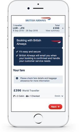 Skyscanner Direct Booking