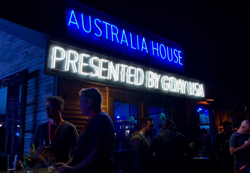 AUSTRALIAHOUSE @ SXSW - G'DAY USA & SOUNDS AUSTRALIA - Secured & managed partnerships for the inaugural AUSTRALIAHOUSE - a collaboration between G'Day USA & Sounds Australia, with Tim Tam, Blundstone & Twitter generating revenue & earned media.