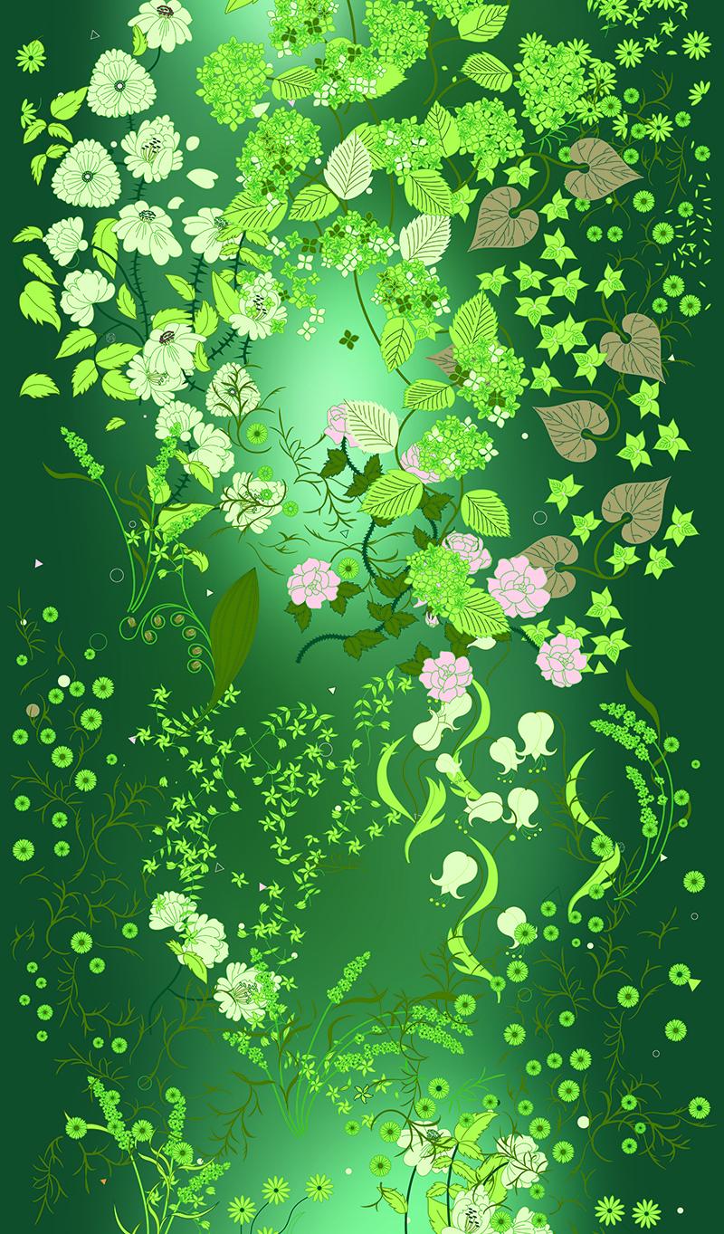 Garden in Emerald