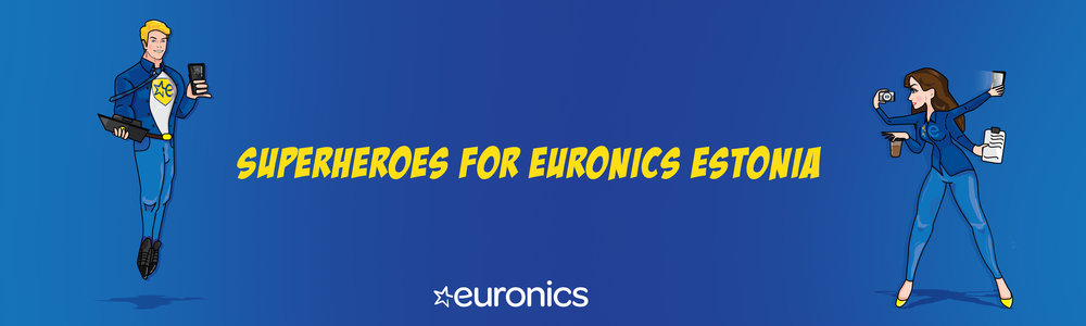 Euronics Superheroes