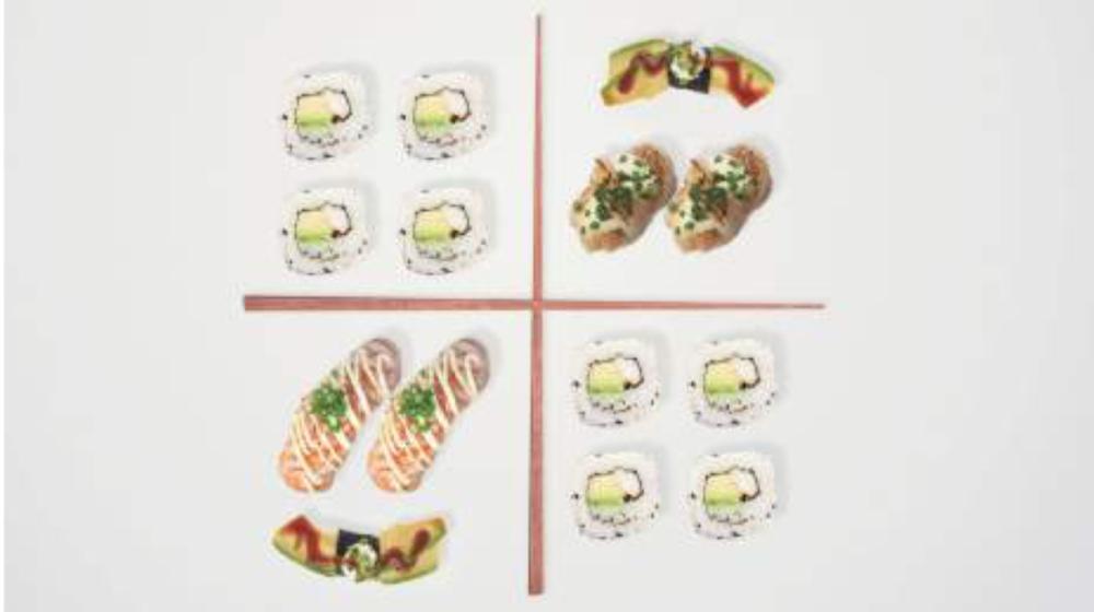 WAKAME SALAD 5.00 wakame- merileväsalaattia, kurkkua, japanesekastiketta, seesaminsiemeniä / wakame-seaweed salad, cucumber, japanese dressing, sesame seeds