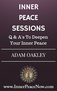 A free ebook on inner peace, including questions and answers for greater peace of mind...